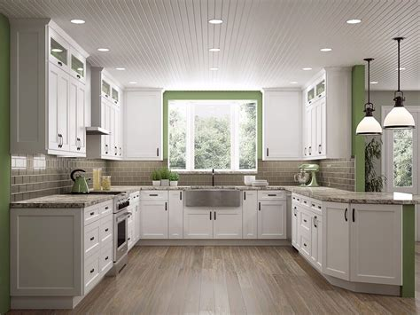 shaker style kitchen cabinets design white shaker cabinets the kitchen design trend