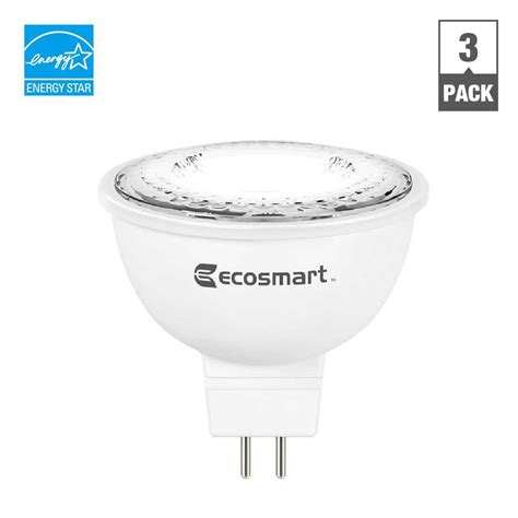 Ecosmart 50w Equivalent Bright White Mr16 Gu5 3 Dimmable