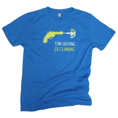 Blue Shirt 02 by Blue T Shirt 02 Go Climbing T Shirt S Buy
