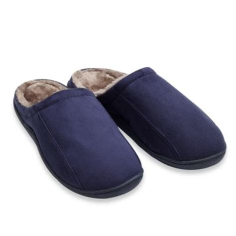 buy men s slippers from bed bath beyond