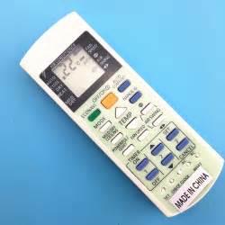 Remotremote Ac Panasonic Original A75c3182 promoci 243 n de air conditioner remote panasonic de