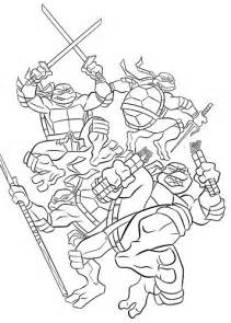 free ninja turtles coloring pages