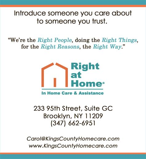 right at home health care right way the right at home way a personal approach