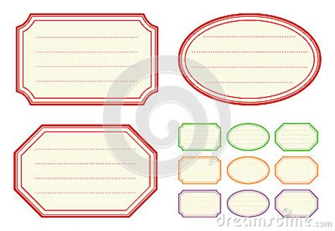 Old Fashioned Jam Label Templates Royalty Free Stock Photo Image 37387685 Jam Paper Templates