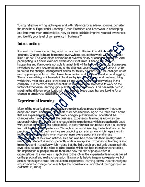 1000 Word Essay by 1000 Word Reflective Essay Corp1518