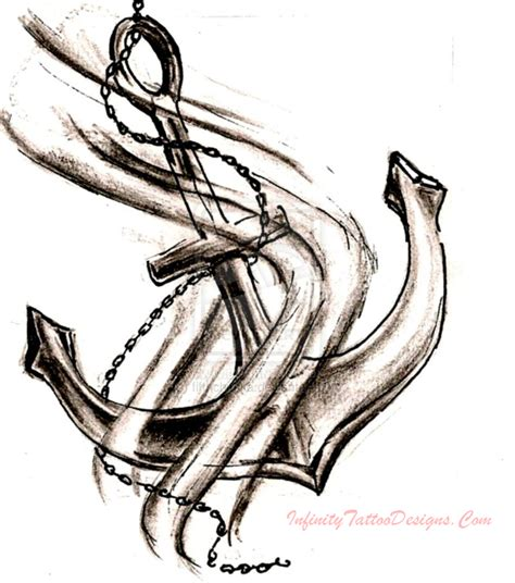 tribal anchor tattoos anchor ideas and meanings