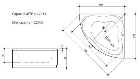 dimensioni vasche angolari dimensioni vasca angolare termosifoni in ghisa scheda