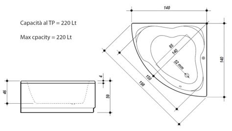 docce angolari misure docce angolari misure home design e interior ideas