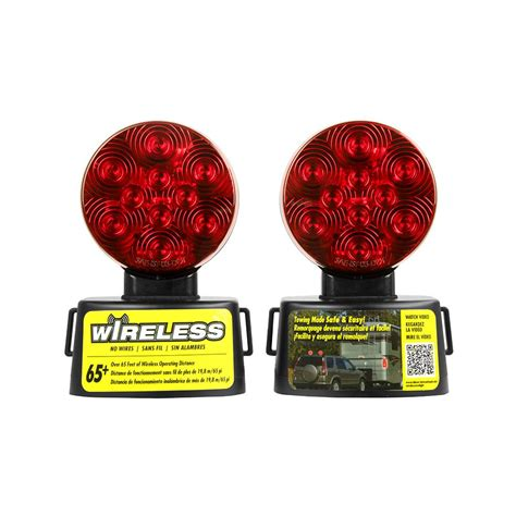 home depot wireless lights blazer led wireless magnetic towing light kit c6304 the