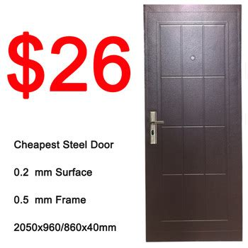 cheap used exterior doors entrance used exterior cheap steel door for sale
