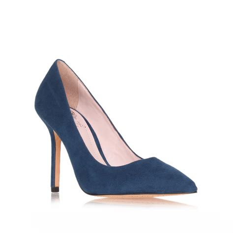 navy shoes vince camuto harty in blue navy lyst