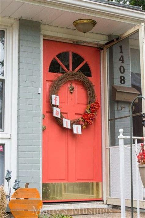 Coral Front Door Behr Japanese Kimono Coral Front Door Paint Color
