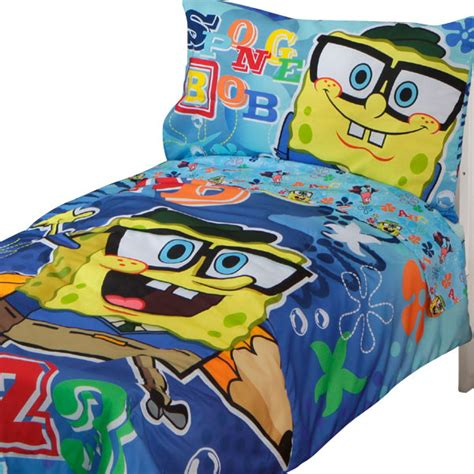 spongebob toddler bedding set spongebob squarepants toddler bedding set 123 school