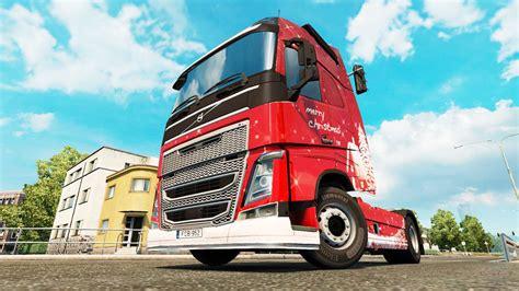 merry christmas skin  volvo truck  euro truck simulator