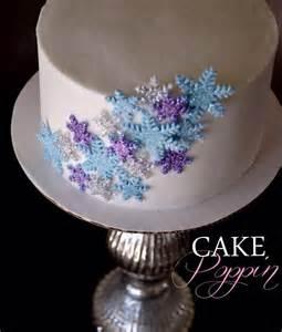 Pics photos snowflake cake for a disney frozen party