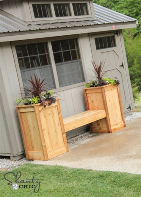 sheva brachot benching bench planter box plans 28 images cedar planter box