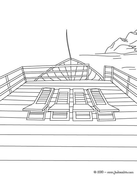 terrasse yacht coloriages coloriage terrasse de yacht 224 imprimer fr