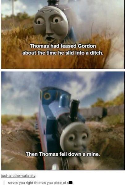 Meme Engine - 22 funniest things ever done with thomas the tank engine