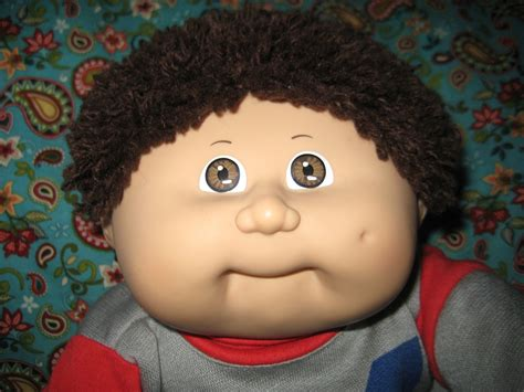 hairstyles for cabbage patck kids vintage cabbage patch kid doll fuzzy hair boy