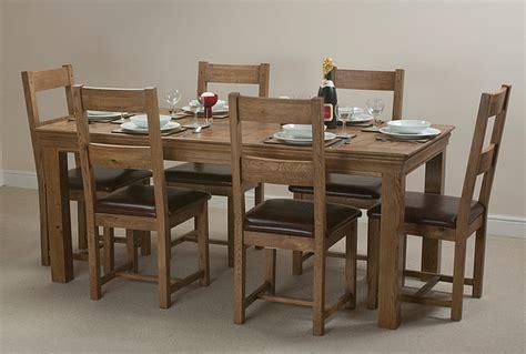 Oak Farmhouse Dining Room Table Farmhouse Rustic Solid Oak 6ft Dining Table