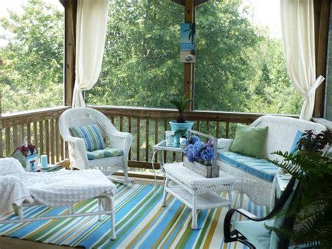 screened porch makeover rolul culorii in amenajarea gradinii