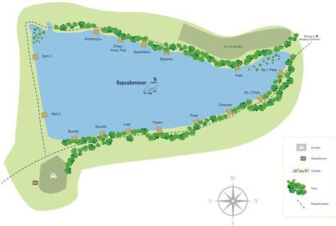 map uk fishing tackle squabmoor reservoir coarse fishing sw lakes fishing