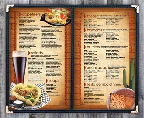 design mexican menu 23 best menu templates images on pinterest restaurant
