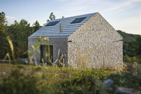 compact homes a compact stone and concrete cottage in slovenia dekleva