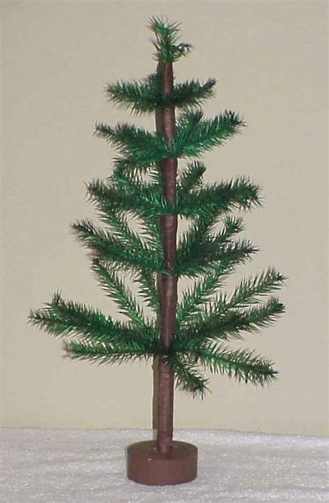 vintage 18 quot feather christmas tree artificial trees