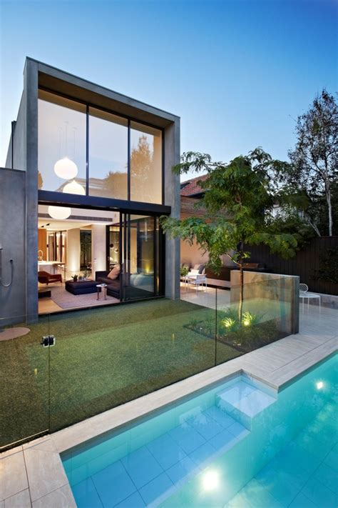 fortress exterior reveals open interiors surrounding central courtyard modern house designs fortress exterior reveals open interiors surrounding