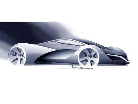 mazda supercar mazda furai concept 2008 supercar sketches