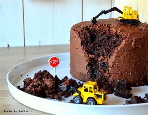 kuchen kindergeburtstag 2 jã hrige die besten 17 ideen zu bagger kuchen auf