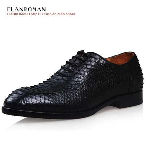 Comfortable Dress Shoes For by Aliexpress Buy Elanroman S Luxury Dress Shoes