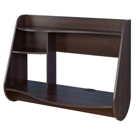 espresso machine for office desk floating desk in espresso eehw 0901 1