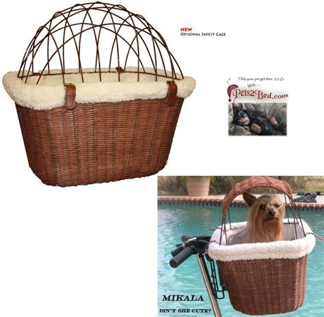 bicycle baskets for dogs pin by t renee on poodle power