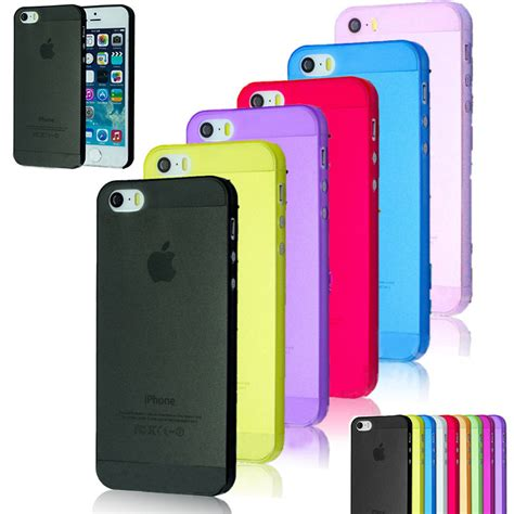 Casing Cover Ultra Thin Stealth Iphone 5 5s 5c Silicon Soft Jell iphone 5 5s ultra thin