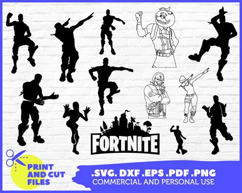fortnite svg games fortnite logo characters digital
