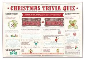 christmas trivia quiz for christmas crackers or christmas