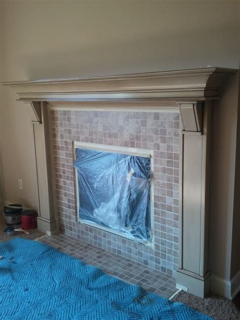 Painting Fireplace Tiles by Fireplace Tile You Can Paint It The Magic Brush Inc