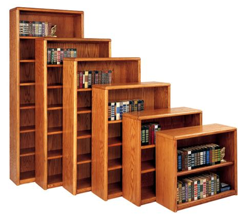 Contemporary Bookcase Contemporary Bookcase With 5 Shelves 3 Adjustable And 2 Fixed