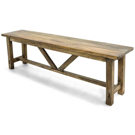 harvest table bench harvest bench salvage home source furniture