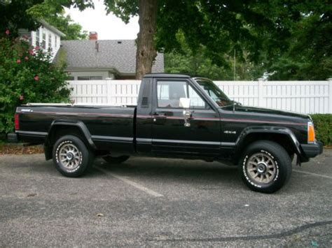 1986 jeep comanche black find used 1986 jeep comanche x 3 4 v6 standard cab