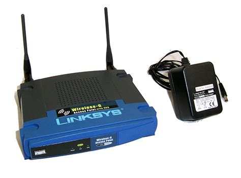 Adaptor Untuk Wifi Akses Point linksys wap54g ver 3 wireless g access point with ses and ac adapter bundle ebay
