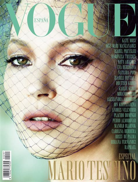 Cbell Kate Moss On The Cover Of Vogue February 2008 by Kate Moss For Vogue Spain December 2012