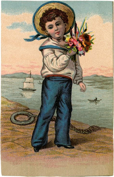 Sailor Boy sweet vintage sailor boy picture the graphics