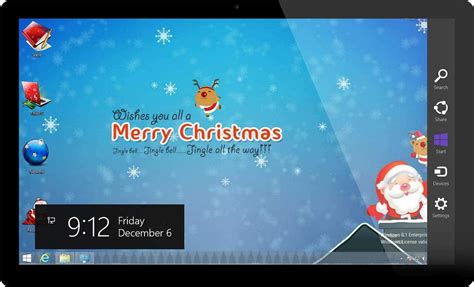 Themes For Windows 7 Christmas | windows 7 themes christmas theme for windows holiday