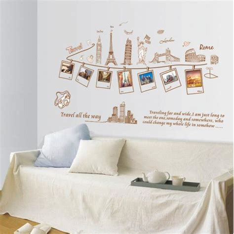wallpaper dinding london paris dinding menara eiffel decal patung liberty foto