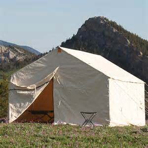 canvas wall tent out west better