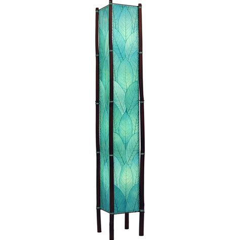 eangee home design lighting eangee 395 xl sb fortune giant floor l in sea blue finish