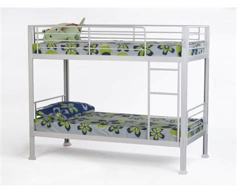 white metal bunk beds for everyone top bunk beds reviews metal beds white metal no bolt bunk bed by metal beds ltd